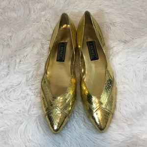 4 for $25 RENEE GOLD FLATS